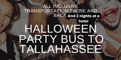 The Official Halloween Party Bus from Boca to Tally! tickets