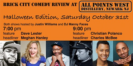 Brick City Comedy Review at All Points West Distillery, Halloween, 1 Table tickets