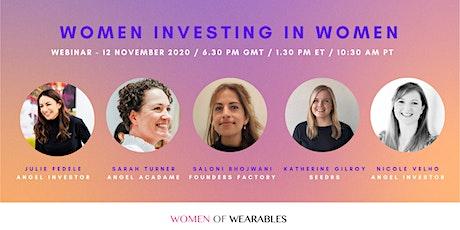 WEBINAR - Women Investing In Women tickets