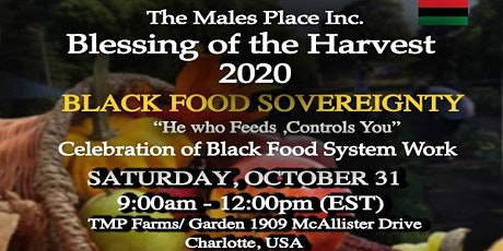 The Males Place Inc. Blessing of the Harvest 2020 tickets