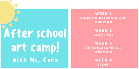 Sea Colony After School Art Camp tickets