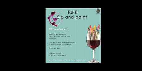 R&B Sip and Paint tickets