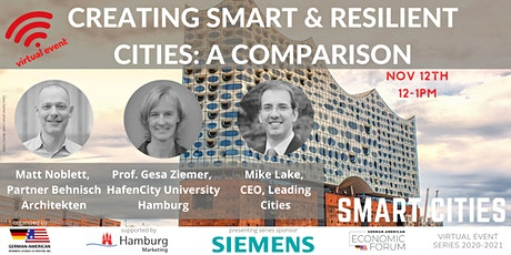 Creating  Smart & Resilient Cities: A Comparison tickets
