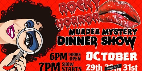Rocky Horror Murder Mystery Dinner Show tickets