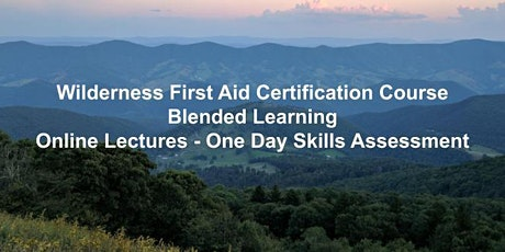 Wilderness First Aid Certification - On Site Skills Assessment tickets