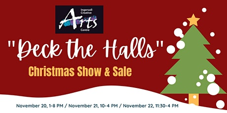 """""""Deck the Halls"""" Artist and Maker Sale tickets"""