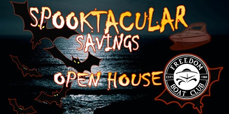 Freedom Boat Club Emeryville | Spooktacular Savings Open House! tickets