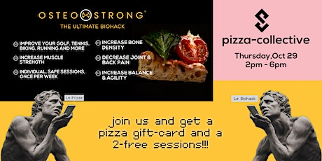 OsteoStrong @ Pizza Collective tickets