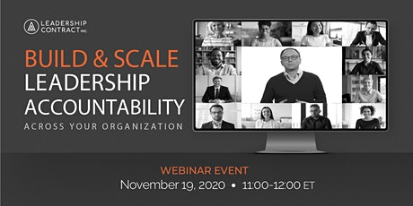 Build & Scale Leadership Accountability - November tickets