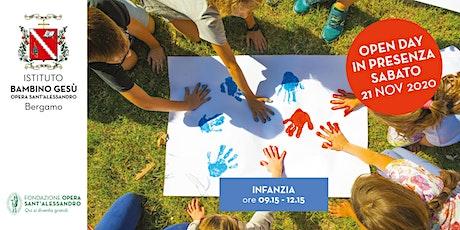 SCUOLA DELL'INFANZIA DEL BAMBINO GESU'/ OPEN DAY IN PRESENZA biglietti