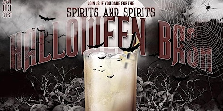 Join us if you DARE for the spirits and SPIRITS Halloween bash tickets