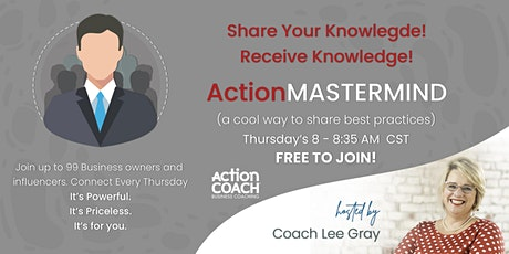 ZOOM  ActionMASTERMIND with Coach Lee tickets