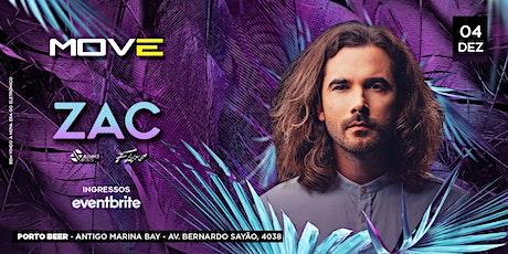 MOVE - ZAC - 19/12  @ Porto Beer - Belém - PA ingressos