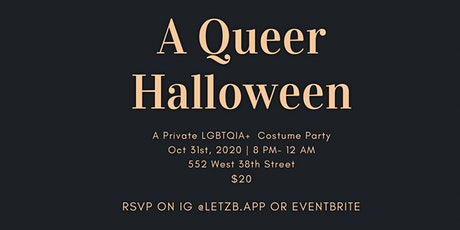 Queer Halloween Costume Party tickets
