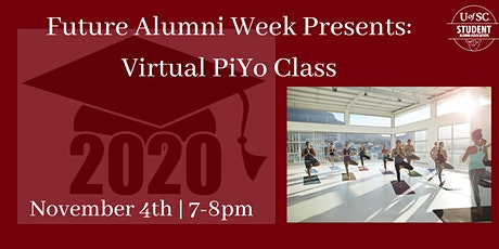 Future Alumni Week: Virtual PiYo Class