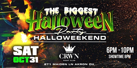 OFFICIAL BIGGEST HALLOWEEN DAYPARTY tickets