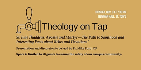 """Theology on Tap - """"St. Jude Thaddeus: Apostle and Martyr"""""""