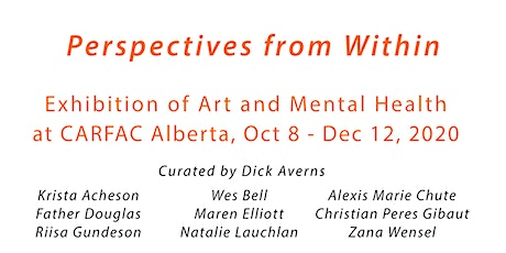 Perspectives From Within – Exhibition of Art & Mental Health Curator's Talk tickets