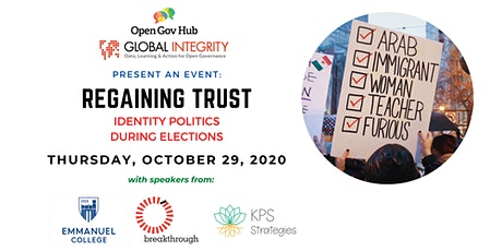 Regaining Trust: Identity Politics during Elections tickets