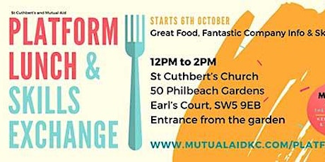 St Cuthbert Mutual Aid Lunches tickets