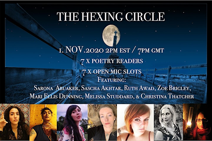 The Hexing Circle: A Pre-election Poetry Reading image