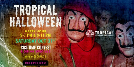 Tropical Halloween Costume contest tickets