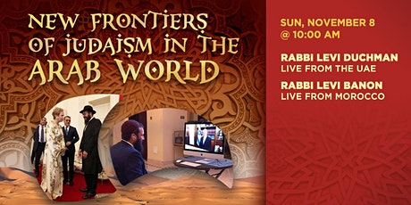 New Frontiers of Judaism in the Arab World tickets