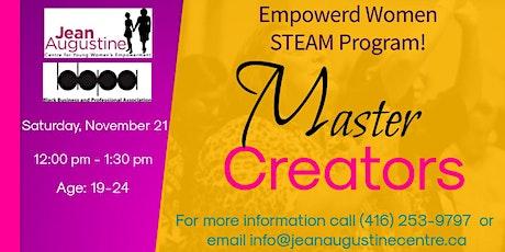 Master Creators tickets