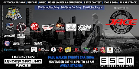 Paul Walker Tribute Meet & Car Show tickets