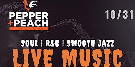LIVE MUSIC @ Pepper + Peach tickets