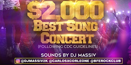 Saturday Dec 26th $2,000 Best Song Concert Bfe Rock Club tickets