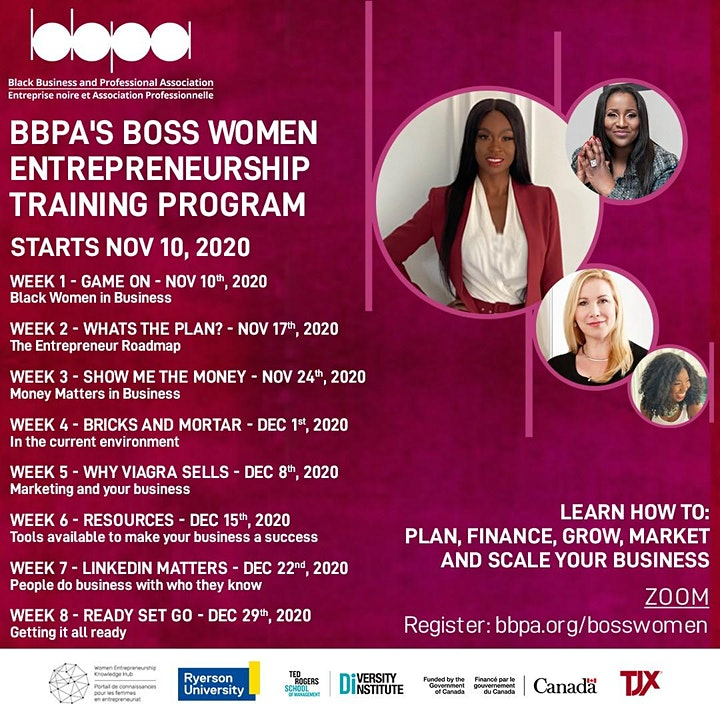 BBPA Boss Women Entrepreneurship Training Program image
