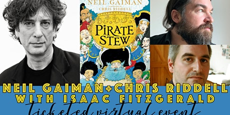 Neil Gaiman and Chris Riddell Virtual Event with Isaac Fitzgerald! tickets