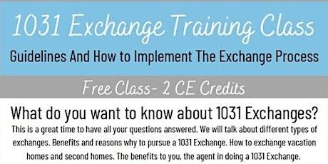 1031 Exchange Training Class tickets