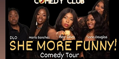 Damon Williams Presents SHE MORE FUNNY at RIDDLES tickets