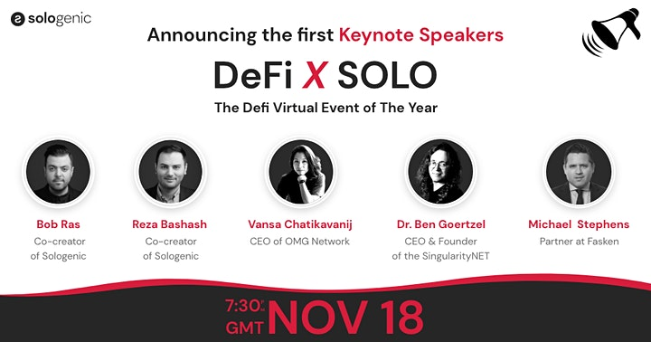SOLO x DEFI: The DeFi Virtual Event of the Year image