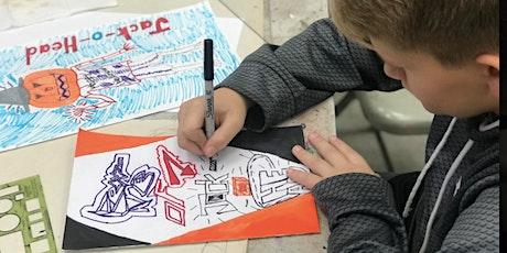 "Character Design Workshop: Tim Burton ""Nightmare Before Christmas"" Inspired tickets"