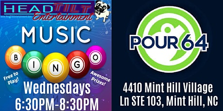 Music Bingo at Pour 64! tickets