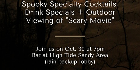 Halloween Movie night at the Surfcomber tickets