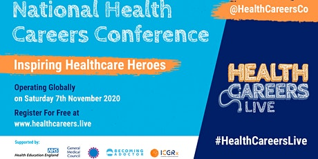 National Health Careers Conference 2020 #HealthCareersLive tickets