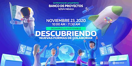 Conferencia de lanzamiento:   Banco de Proyectos entradas