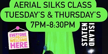 Aerial Silks Class | Circus Arts Class tickets