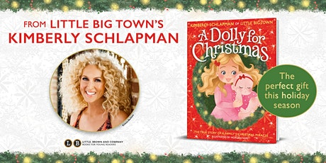 Virtual Author Event with Kimberly Schlapman for A Dolly For Christmas tickets