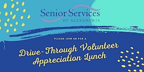 Drive-thru Volunteer Appreciation Lunch tickets