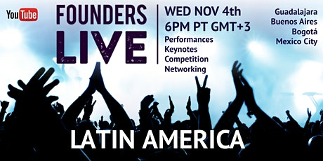 Founders Live Prime Time: Round  5- Latin America tickets