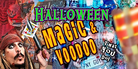 FREE Halloween Magic & Mentalism  Show! LIVE with Jack Spareribs eve. show tickets