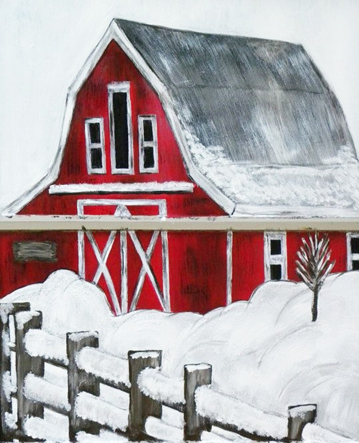 Painting a Red Barn Adults Class image