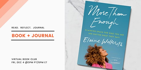 Book + Journal: More than Enough tickets