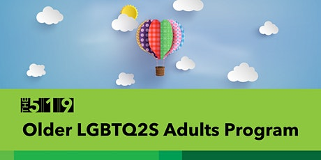 Older LGBTQ2S Adults: Let's Take Portraits! tickets