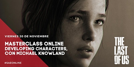 Masterclass Online | Developing Characters, con Michael Knowland boletos